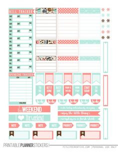 But First Coffee Free Happy Planner Printable Stickers (2 page set)