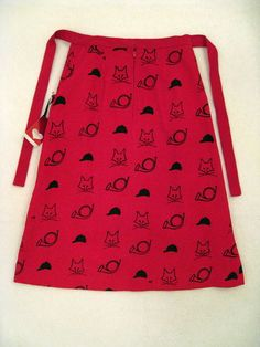 Fox Hunt: 1960s Vested Gentress Printed Skirt Small Red Corduroy Fox Hunt Very RARE Mod | eBay
