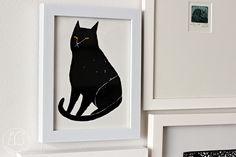 Oravanpesä | Black Cat by Jen Collins