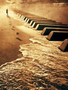 Piano Key beach..