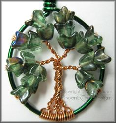 Image detail for -... OOAK, unique style/themed Tree of Life pendants - JEWELRY AND TRINKETS
