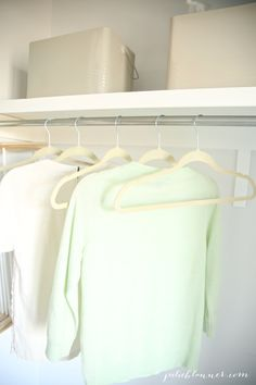 Great ideas for the laundry room - simple organization tips & tricks