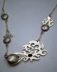 Cometbox Necklace locket by annamcdade on Etsy, $880.00