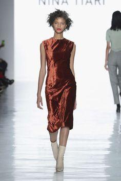 Nina Tiari, Otoño/Invierno 2017, New York, Womenswear