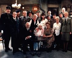 "The cast of ""allo allo"" a classic BBC comedy in the old style of classic comedy the BBC did so well. Timeless humour from when you could laugh at things that are probably too incorrect these days."