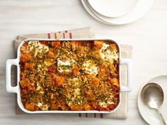 Four-Cheese Baked Pasta with Sun-Dried Tomatoes recipe from Food Network Kitchen via Food Network