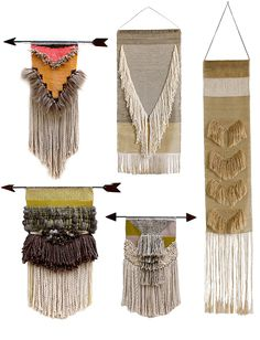"This could be great for those ""leave behind""s - perhaps fringe can be made by raveling fabric?"