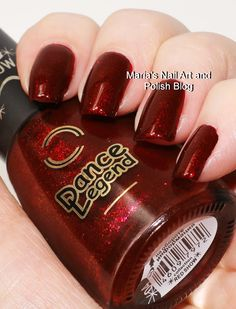 Marias Nail Art and Polish Blog: Dance Legend Red Show 04 and 06 swatches