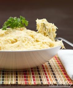 "Skinnified ""Fettuccine"" Alfredo, made with Spaghetti squash and lighter ingredents"