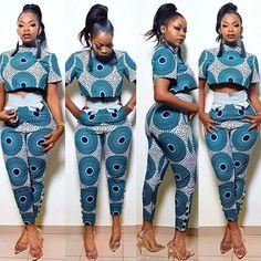 ankara mode lovely ankara trouser styles with matching top - African Fashion Ankara, African Inspired Fashion, Latest African Fashion Dresses, African Print Dresses, African Print Fashion, Africa Fashion, African Dress, African Print Pants, Ankara Dress