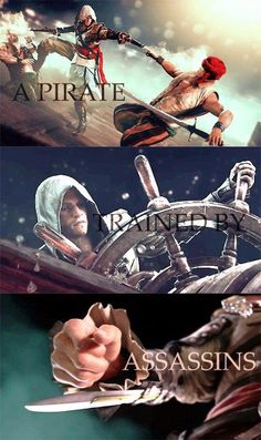 Assassin's Creed 4: Black Flag - A Pirate trained by an Assassin