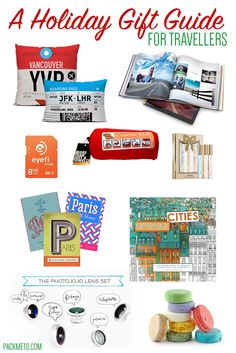 Holiday Gift Guide for Travellers (for $50 or less)   packmeto.com