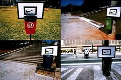 Making trash into a sport! By FCB Sao Paulo for Nike in Brazil. Aug 2001.