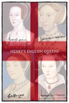 COAT OF ARMS: Anne Boleyn vs. the other English Queens | tudorqueen6 | The English Queens of Henry VIII: Anne Boleyn, Jane Seymour, Katherine Howard, and Katherine Parr.
