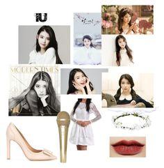 """IU/Lee Ji-Eun❤"" by sunnybunny101-167 ❤ liked on Polyvore featuring Banda and Salvatore Ferragamo"