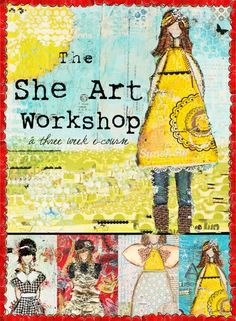 You will have 3 months to enjoy the class! In this workshop, you will learn how to create unique  she Art girls, as seen in my art and mixed projects!