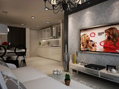 Apartment Interior Design Jakarta apartment #interior #design #modern-classic #ideas #black #white