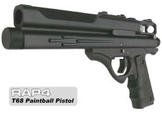 T68 Gen3 Paintball Pistol - paintball gun by Rap4. $136.40. This paintball pistol is the smallest and the lightest paintball pistol available, it has a 10 rounds interchangeable magazine which makes it the best for backup as well as keeping everything light and ready for fast action paintball. The new T68 paintball pistol has the fastest CO2 replacement system ever. Designed like no other .68 caliber pistol! Features: enlarged trigger guard for easier shooting, contour...