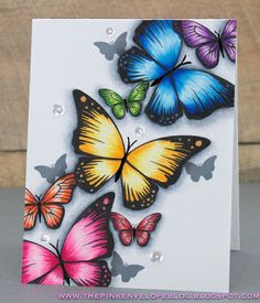 Cynde Whitlow for Avery Elle using Butterflies Stamp Set