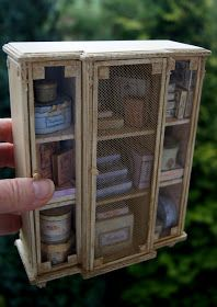 DIY dollhouse armoire tutorial