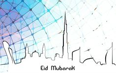 Dubai Design Eid Greeting Cards Eid Images, Eid Greeting Cards, Eid Greetings, Eid Mubarak, Dubai, Celebrations, Design, Art, Art Background
