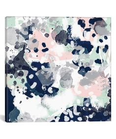 Melia Abstract Wrapped Canvas