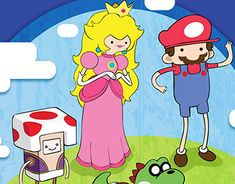"Check out new work on my @Behance portfolio: ""Mario Time"" http://be.net/gallery/64417113/Mario-Time"