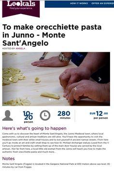 Laboratori Didattici ~  How to make orecchiette pasta in Junno ~