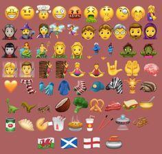 Unicode 69 adet yeni emojisini ekleyecek