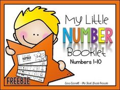 Handwriting Number Booklets {#'s 1-10) ~ FREE from Cara Carroll (The First Grade Parade) These are made for Kinder students at the beginning of the year. Perfect!