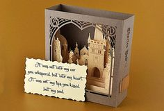 Rsvp cards Prague Charles Bridge in Czech Pop up cards