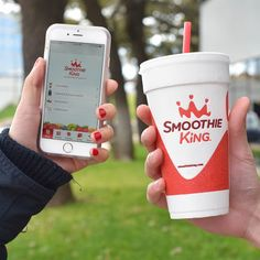 Smoothie King, Travel Mug, Your Favorite, Smoothies, App, Mugs, Coffee, Drinks, Tableware