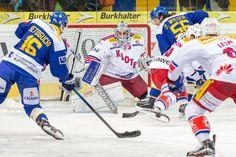 Hockey Club Davos - Der HCD spielt mit dem Feuer: nur 3:1 Sieg gegen Kloten - 3. Viertelfinalspiel: HCD - Kloten 3:1 - Yeah!