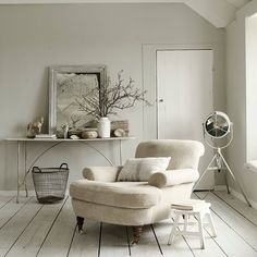 Coastal-inspired living room | Neutral living room ideas | Living room decorating ideas | PHOTO GALLERY | Livingetc | Housetohome.co.uk