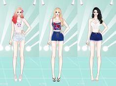 SNSD's Taeyeon, Yoona & Tiffany's style in Party MV