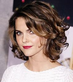 short cuts for curly hair