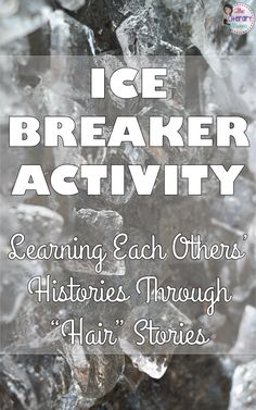 "A great icebreaker or get to know you activity for back to school would be reading ""Hairs"" by Sandra Cisneros and then have students write and share their own ""hair"" stories."