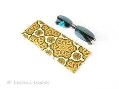 SALE - Geometric Glasses Case, Sunglasses Case £4.50