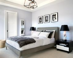 Cool 88 Romantic Black and White Bedroom Ideas for Couples. More at http://88homedecor.com/2017/09/05/88-romantic-black-white-bedroom-ideas-couples/