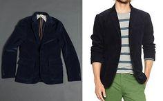 Blue Cord Blazers