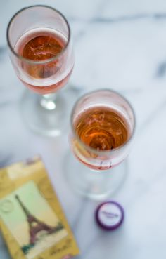 ... made with champagne and currant liqueur more cassis liqueur currant