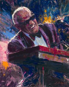 (Ray Charles) 'Play That Song' by Nenad Mirkovich Ray Charles, Jazz Artists, Music Artists, Pop Art, Architecture Tattoo, Afro Art, African American Art, Arte Pop, Cultura Pop