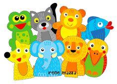 colorati animali_segnalibro
