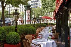 joli terrasse d restaurant fouquet's les meilleurs restaurants de paris