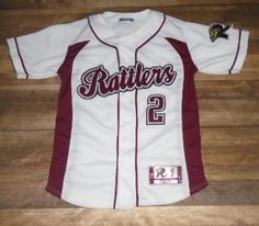 Have a look at this custom jersey designed by Rattlers Baseball and created at East Valley Sports in Mesa, AZ! http://www.garbathletics.com/blog/rattlers-baseball-custom-jersey-2/ Create your own custom uniforms at www.garbathletics.com!