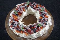 Mary Berry's Christmas pavlova More