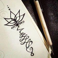 unalome drawing - Google Search