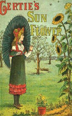 Kate Greenaway (1846 – 1901, English Gertie's Sun Flower