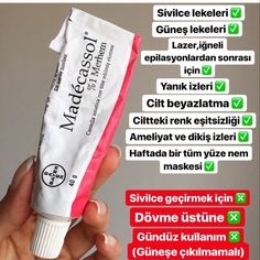 Madecassol What Cream? Use and Benefit to Skin Madecassol Ne Kremi? Kullananlar ve Cilde Fayd…- Madecassol Ne… Madecassol What Cream? Who Fayd to the Skin and …- Madecassol What Cream? And Skin Benefits Best Natural Hair Products, Natural Hair Growth, Natural Hair Styles, Beauty Products, Natural Beauty, Hair Care Oil, Diy Hair Care, Beauty Care, Beauty Skin