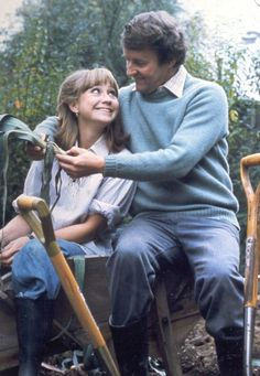 The Good Life a BBC TV sitcom: Tom Good played by Richard Briers; Barbara Good played by Felicity Kendal.